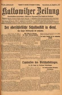 Kattowitzer Zeitung, 1927, Jg. 59, nr283
