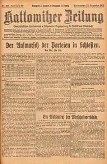Kattowitzer Zeitung, 1927, Jg. 59, nr293
