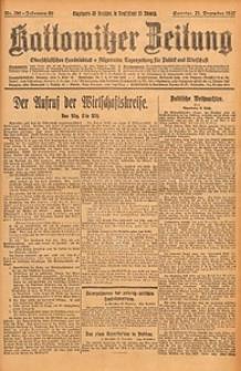 Kattowitzer Zeitung, 1927, Jg. 59, nr296