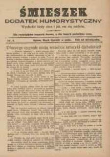 Śmieszek, 1927, nr1