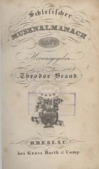 Schlesischer Musen-Almanach für das Jahr 1827, 2. Jg.