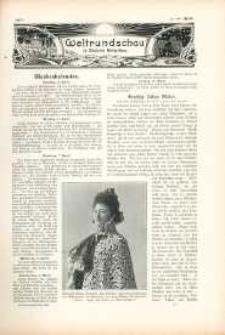 Weltrundschau zu Reclams Universum 1903, nr [14].