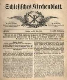 Schlesisches Kirchenblatt, 1862, Jg. 28, nr 13