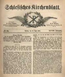 Schlesisches Kirchenblatt, 1862, Jg. 28, nr 15