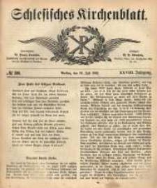 Schlesisches Kirchenblatt, 1862, Jg. 28, nr 30