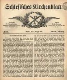 Schlesisches Kirchenblatt, 1862, Jg. 28, nr 31