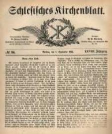 Schlesisches Kirchenblatt, 1862, Jg. 28, nr 36