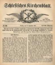 Schlesisches Kirchenblatt, 1862, Jg. 28, nr 39