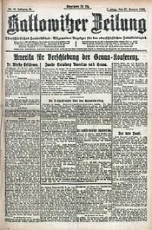 Kattowitzer Zeitung, 1922, Jg. 54, nr24