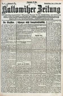Kattowitzer Zeitung, 1922, Jg. 54, nr53