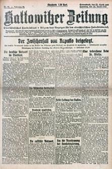 Kattowitzer Zeitung, 1922, Jg. 54, nr95