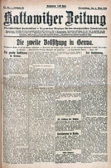 Kattowitzer Zeitung, 1922, Jg. 54, nr104