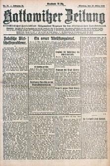 Kattowitzer Zeitung, 1922, Jg. 54, nr74