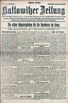 Kattowitzer Zeitung, 1922, Jg. 54, nr116