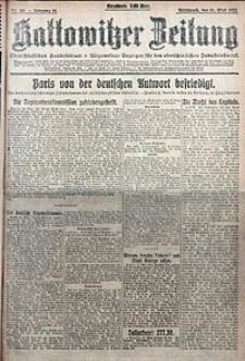 Kattowitzer Zeitung, 1922, Jg. 54, nr126