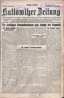 Kattowitzer Zeitung, 1922, Jg. 54, nr153