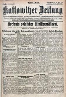 Kattowitzer Zeitung, 1922, Jg. 54, nr162