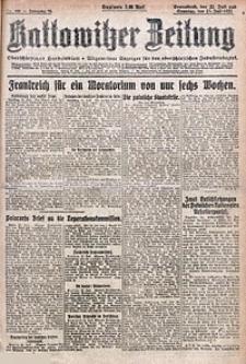 Kattowitzer Zeitung, 1922, Jg. 54, nr168