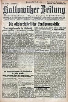 Kattowitzer Zeitung, 1922, Jg. 54, nr210