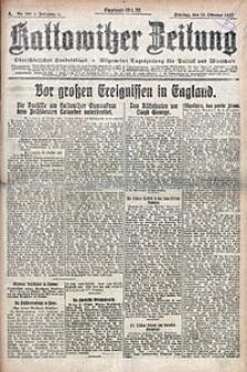 Kattowitzer Zeitung, 1922, Jg. 54, nr238