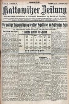 Kattowitzer Zeitung, 1922, Jg. 54, nr267