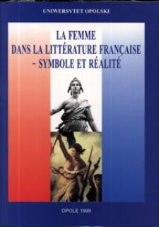 La femme dans la littérature française - symbole et réalité