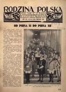 Rodzina Polska : miesięcznik ilustrowany, 1939, R.13, Nr 4 - kwiecień