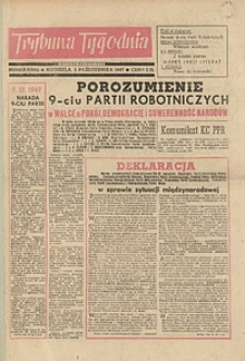 Trybuna Tygodnia, 1947, nr 3