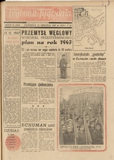 Trybuna Tygodnia, 1947, nr 13