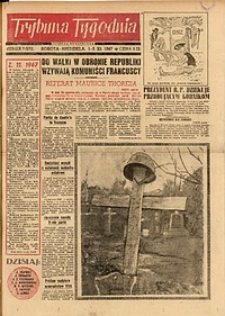 Trybuna Tygodnia, 1947, nr 7