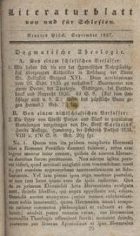 Literaturblatt von und für Schlesien, 1837, 9. Stück