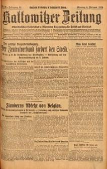 Kattowitzer Zeitung, 1929, Jg. 61, nr29