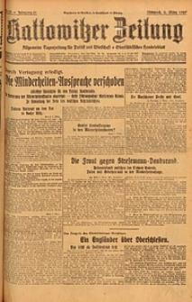 Kattowitzer Zeitung, 1929, Jg. 61, nr55