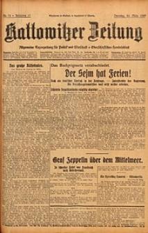 Kattowitzer Zeitung, 1929, Jg. 61, nr72