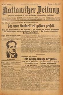 Kattowitzer Zeitung, 1929, Jg. 61, nr88