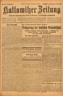 Kattowitzer Zeitung, 1929, Jg. 61, nr104