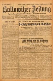 Kattowitzer Zeitung, 1929, Jg. 61, nr109