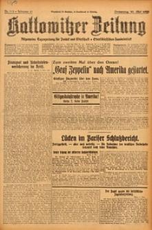 Kattowitzer Zeitung, 1929, Jg. 61, nr113