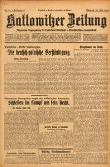 Kattowitzer Zeitung, 1929, Jg. 61, nr117