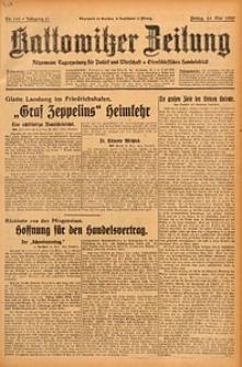 Kattowitzer Zeitung, 1929, Jg. 61, nr119