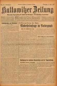 Kattowitzer Zeitung, 1929, Jg. 61, nr133