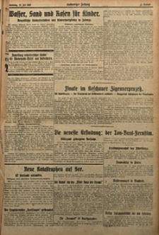 Kattowitzer Zeitung, 1929, Jg. 61, nr164