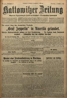 Kattowitzer Zeitung, 1929, Jg. 61, nr179