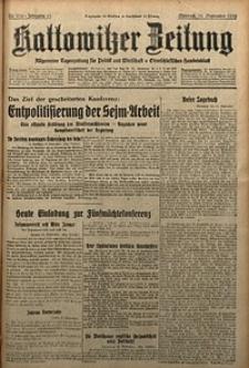 Kattowitzer Zeitung, 1929, Jg. 61, nr216
