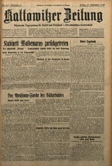 Kattowitzer Zeitung, 1929, Jg. 61, nr218