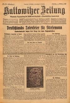 Kattowitzer Zeitung, 1929, Jg. 61, nr232