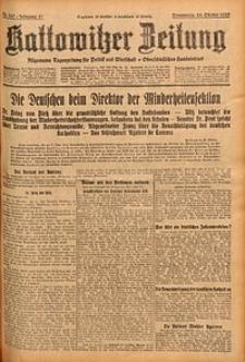 Kattowitzer Zeitung, 1929, Jg. 61, nr247