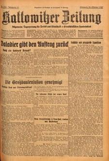 Kattowitzer Zeitung, 1929, Jg. 61, nr252