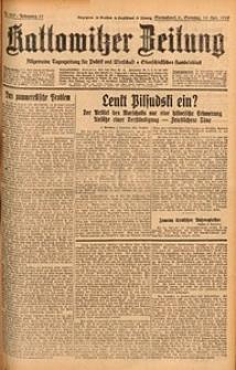 Kattowitzer Zeitung, 1929, Jg. 61, nr260