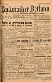 Kattowitzer Zeitung, 1929, Jg. 61, nr261